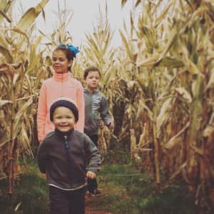 Happy children of the corn