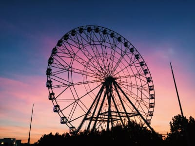 Panoramic wheel in Kazan (Russian Federation) ✨