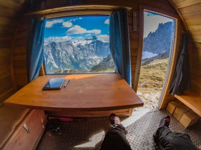 In my opinion the best bivy view you can get in the Julian Alps!