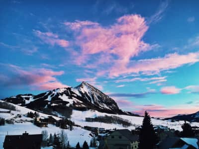 Cotton candy skies