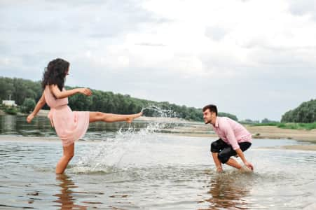 love story on the river