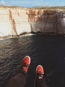 Vans And Cliffs