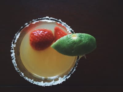 Homemade margaritas