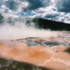 The Grand Prismatic - Yellowstone National Park.