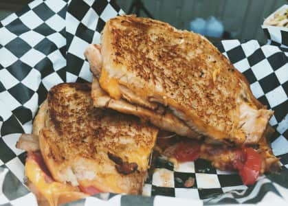 Turkey Bacon Cheddar Melt