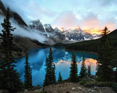 Moraine Lake, Banff National Park Alberta, Canada
