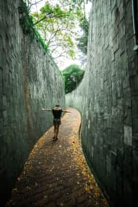Tunnel Fort Canning Singapore
