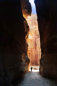 Time tunnel of Petra