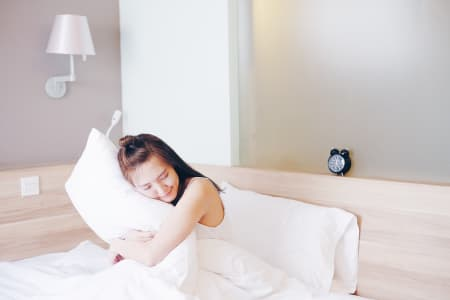 Relax on bed