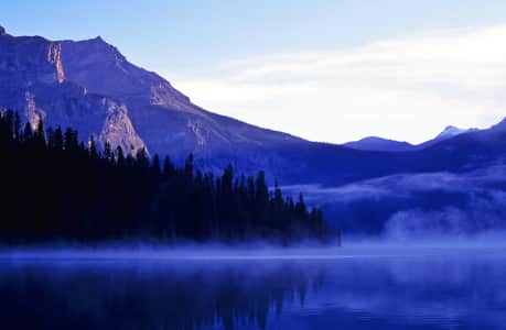 A Kind of Blue - Emerald Lake, British Columbia, during its blue period