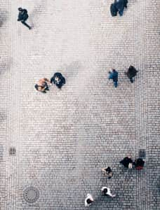 Society from above