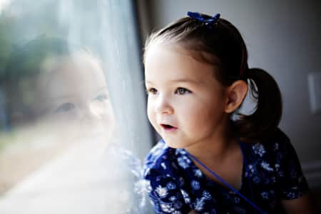 portrait of a little girl in blue looking out a window and smiling and being silly, children, happy, kids, little girl, happy girl, Caucasian, portrait, people, child, eye, baby, toddler, children, closeup, happy, look, hair trends, selective focus, head, hair, girl, nose, face, eyes, ears, little, kid, hairstyle, family, lifestyle, kiss, candid, little girl, documentary, family life