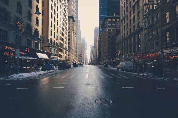 Wintery Days of NYC