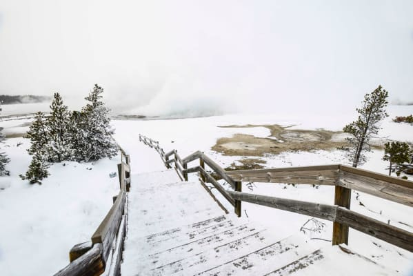 Biscuit Basin Entrance Yellowstone National Park #cordellphoto