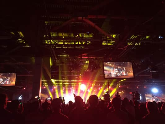 Blizzcon 2014, during the closing ceremony concert
