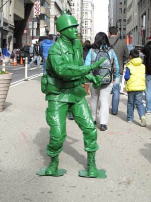 """""""Toy Soldier"""" Wall Street, NYC"""