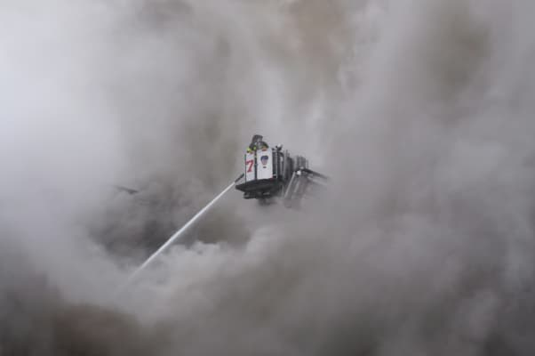3rd Alarm Fire in the east village