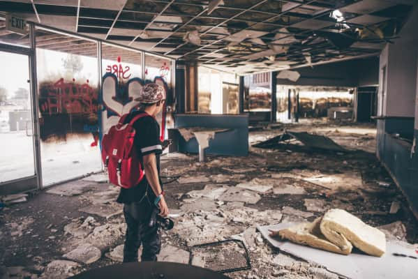 Exploring abandoned places