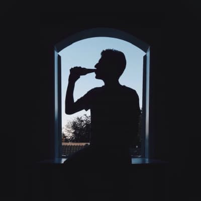 Silhouette sips