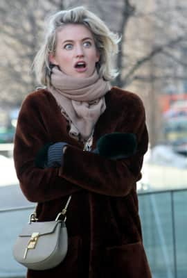 On the streets during NYFW FW2015
