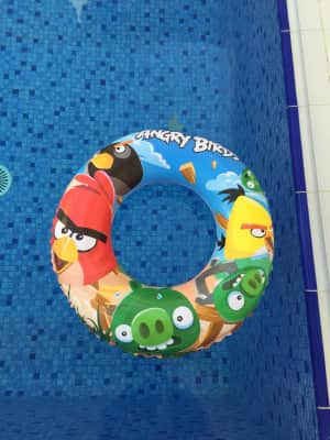 Swimming ring.. Angry birds