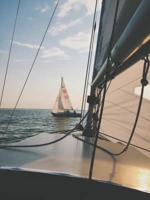 I learned to sail.