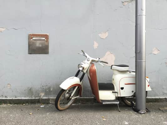 Every moped starts with the decision to try