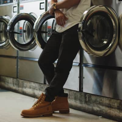 Always, waiting at the laundromat