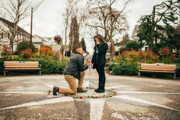 My friend proposing to his gf over the weekend