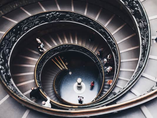 Vatican staircase 🎯