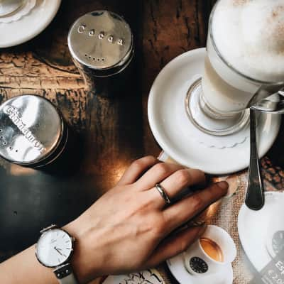 Always a coffee time.