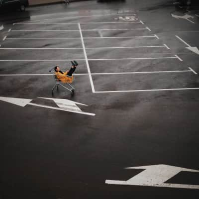 Relax on the parking