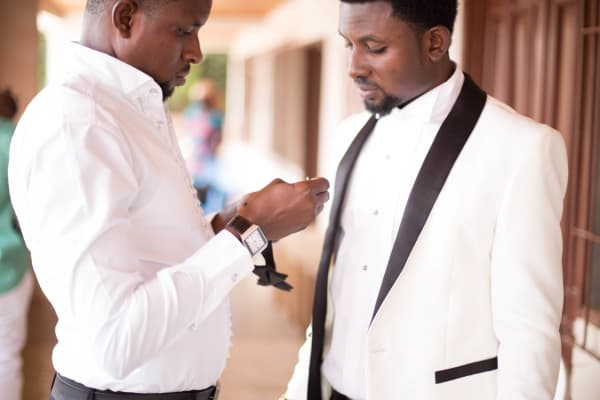 When your BEST MAN is getting you Set for the BIG DAY!