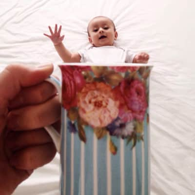 Kid in a cup