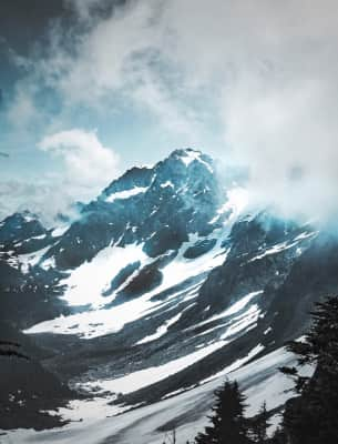 High in the North Cascades