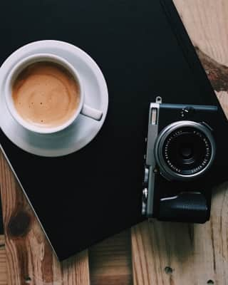 Coffee and cameras! ☕️❤️📷