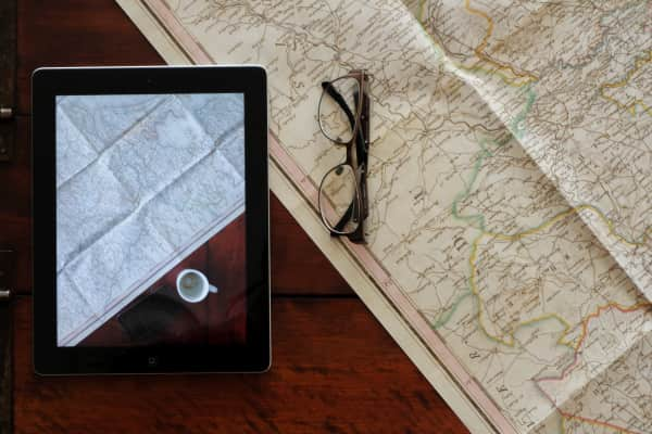 Maps and traveling