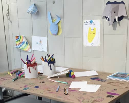 Children's Artwork Desk