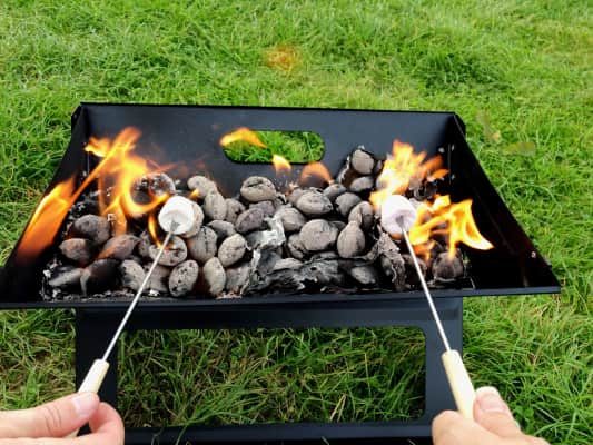 Marshmallows & barbeque