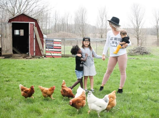 Mothering the farm