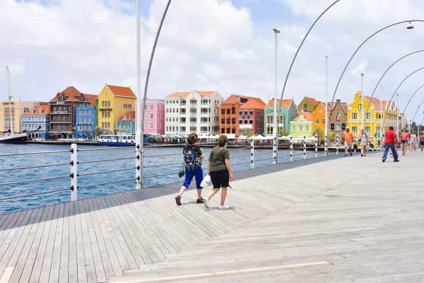 Travel to Willemstad In Curacao.
