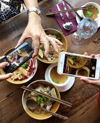 🌹🌹NOMINATED🌹🌹 thank you @giostepan @gracieshadow @antondyomin @delia3107 @kunwar1706  Using Mobile Devices ✋No one can eat until we all take a picture 📱