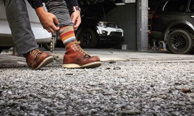 Every Red Wing has a story