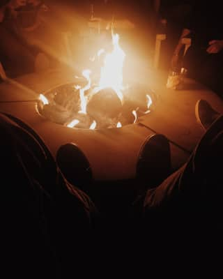 Chill night at the bungalow!
