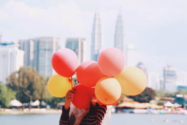 Free balloon for all