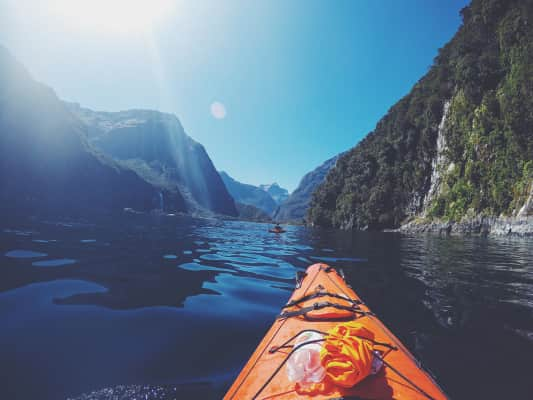 Milford Sound from the water