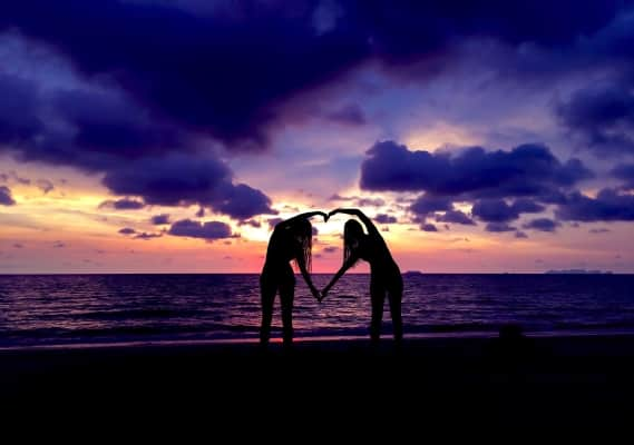 Sunset with love