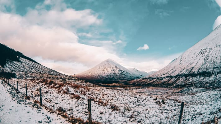 """Scottish Highlands - February 2016  """"Don't let small minds convince you that your dreams are too big"""""""