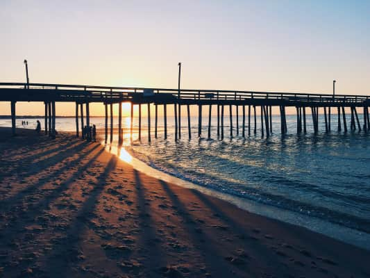 VA Beach oceanfront is infamously known. People from all over come to visit. But it's beaches like Chix mostly known to locals that make VA Beach a great place to live year round.