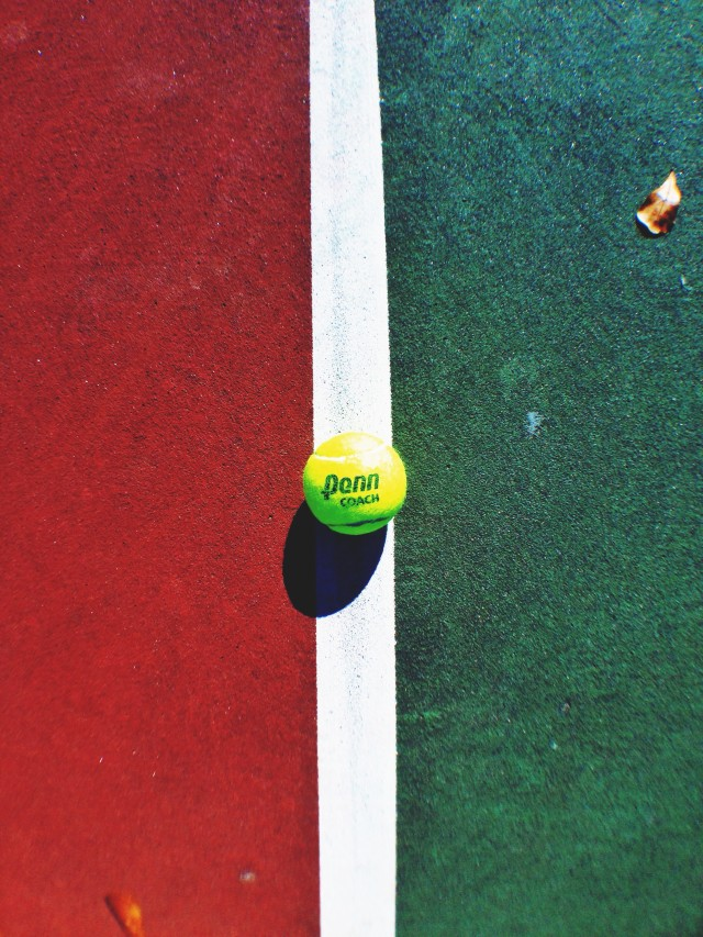 Free authentic tennis ball photo on Reshot